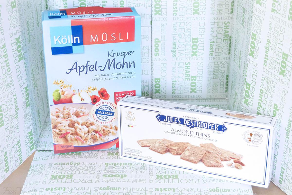Köln Müsli Knusper Apfel Mohn
