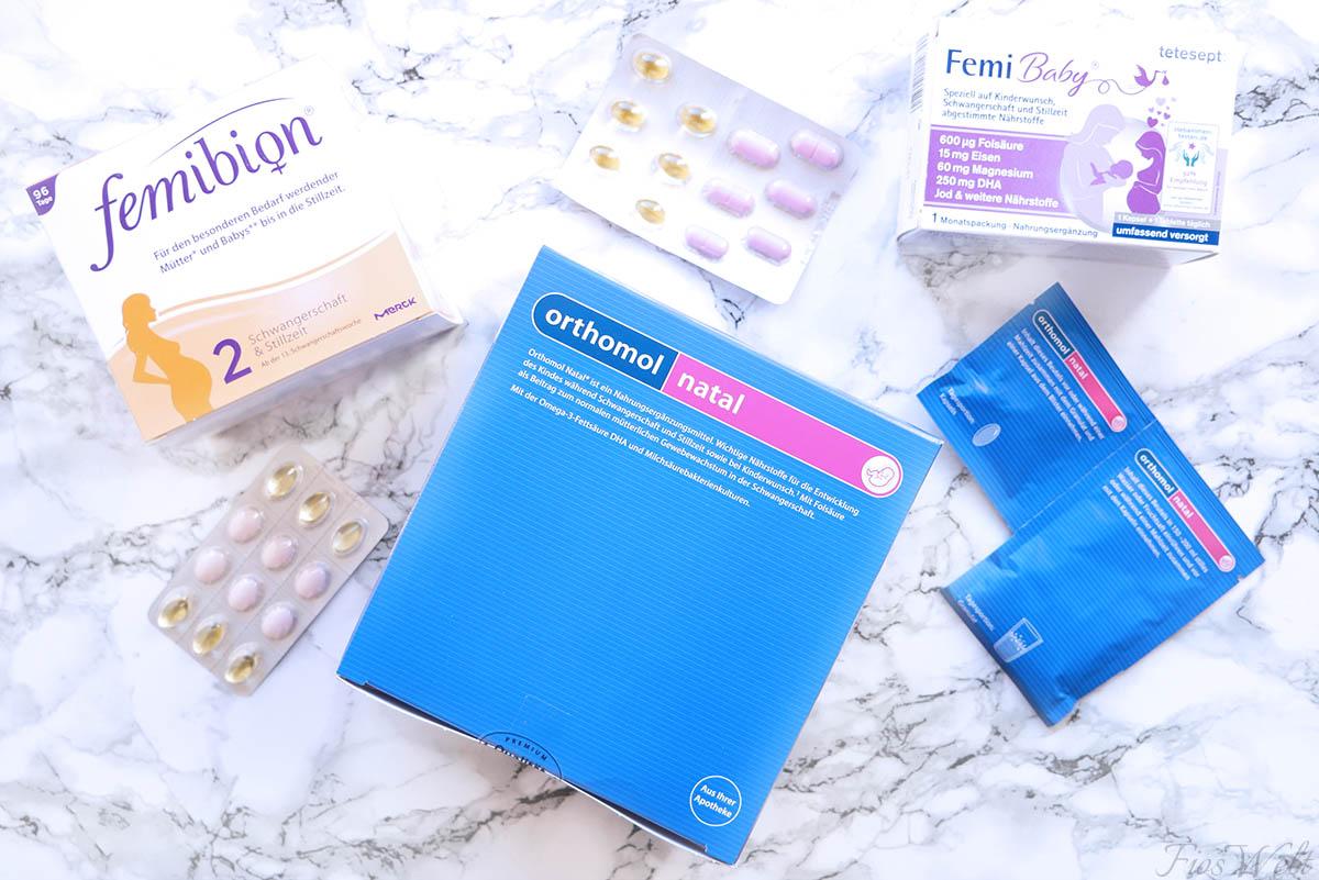 Folsäurepräparate Vergleich
