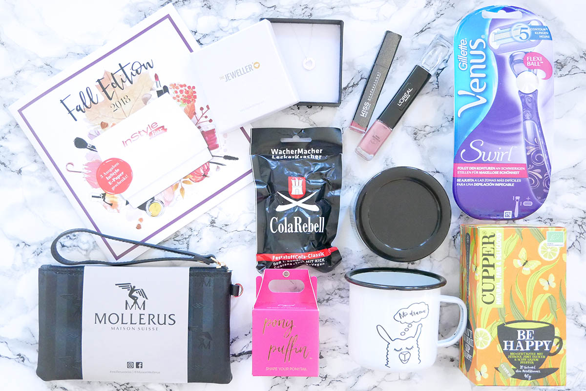 InStyle Box Herbst 2018