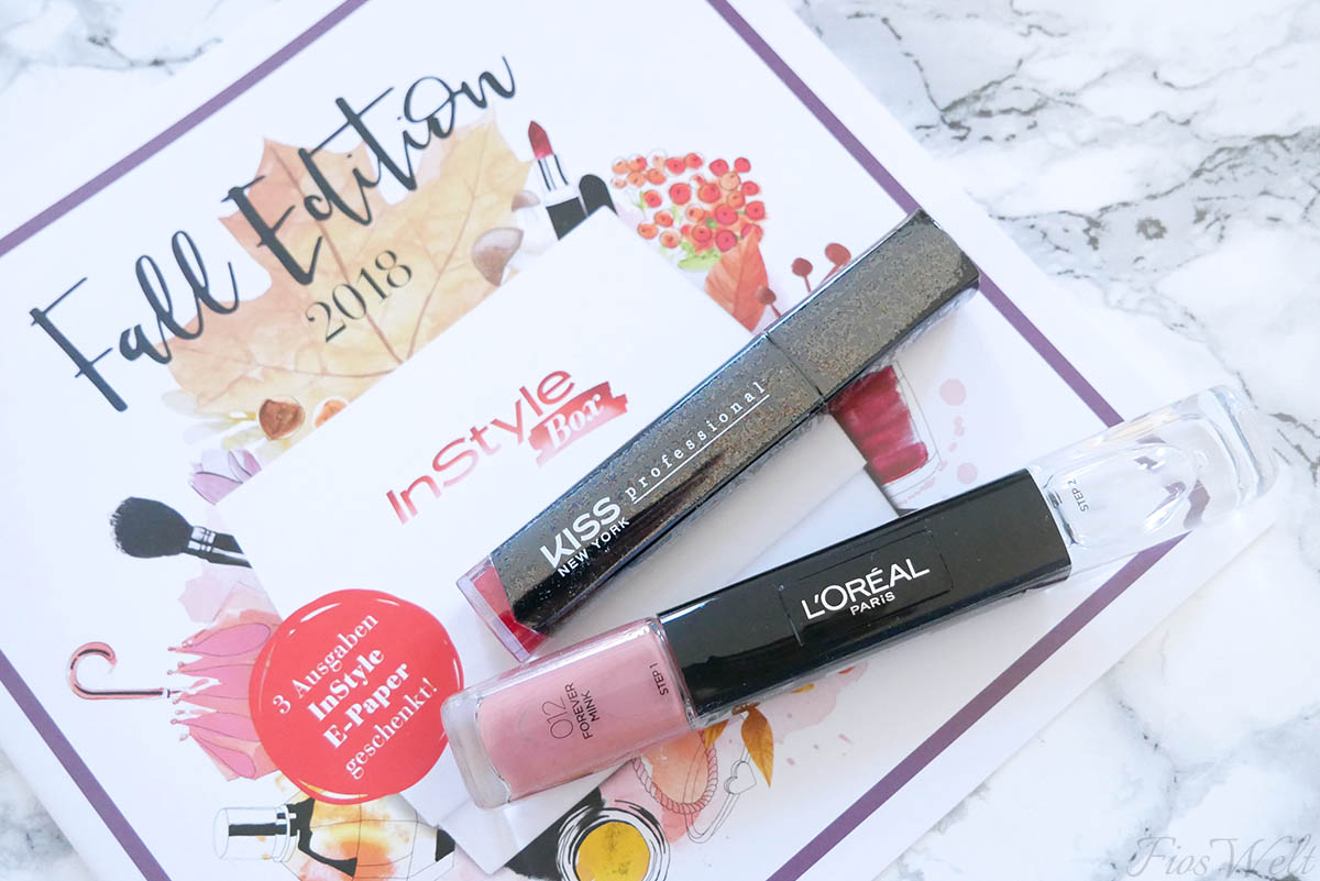InStyle Box Herbst 2018 Beauty