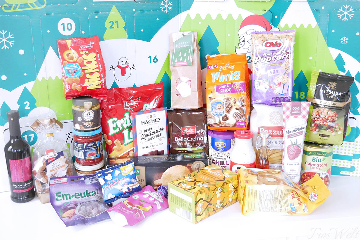 Degustabox Adventskalender Inhalt