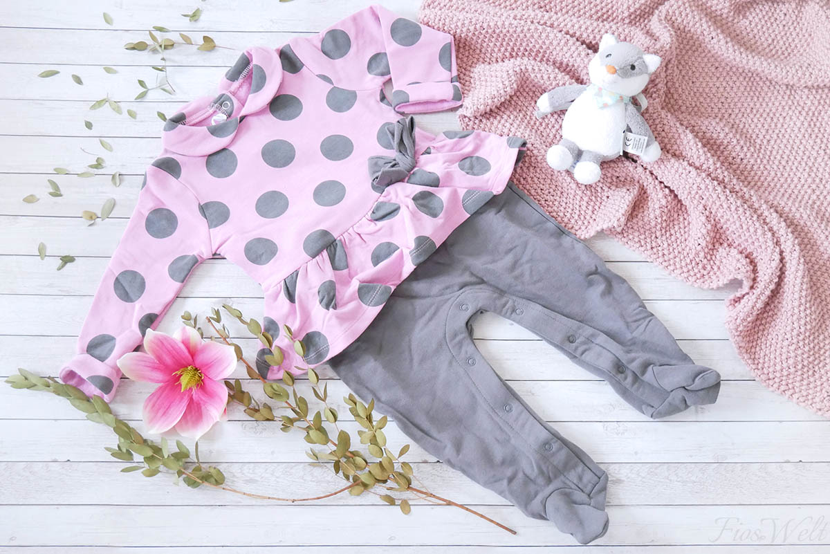 Minimanda Strampler Dotty Dress