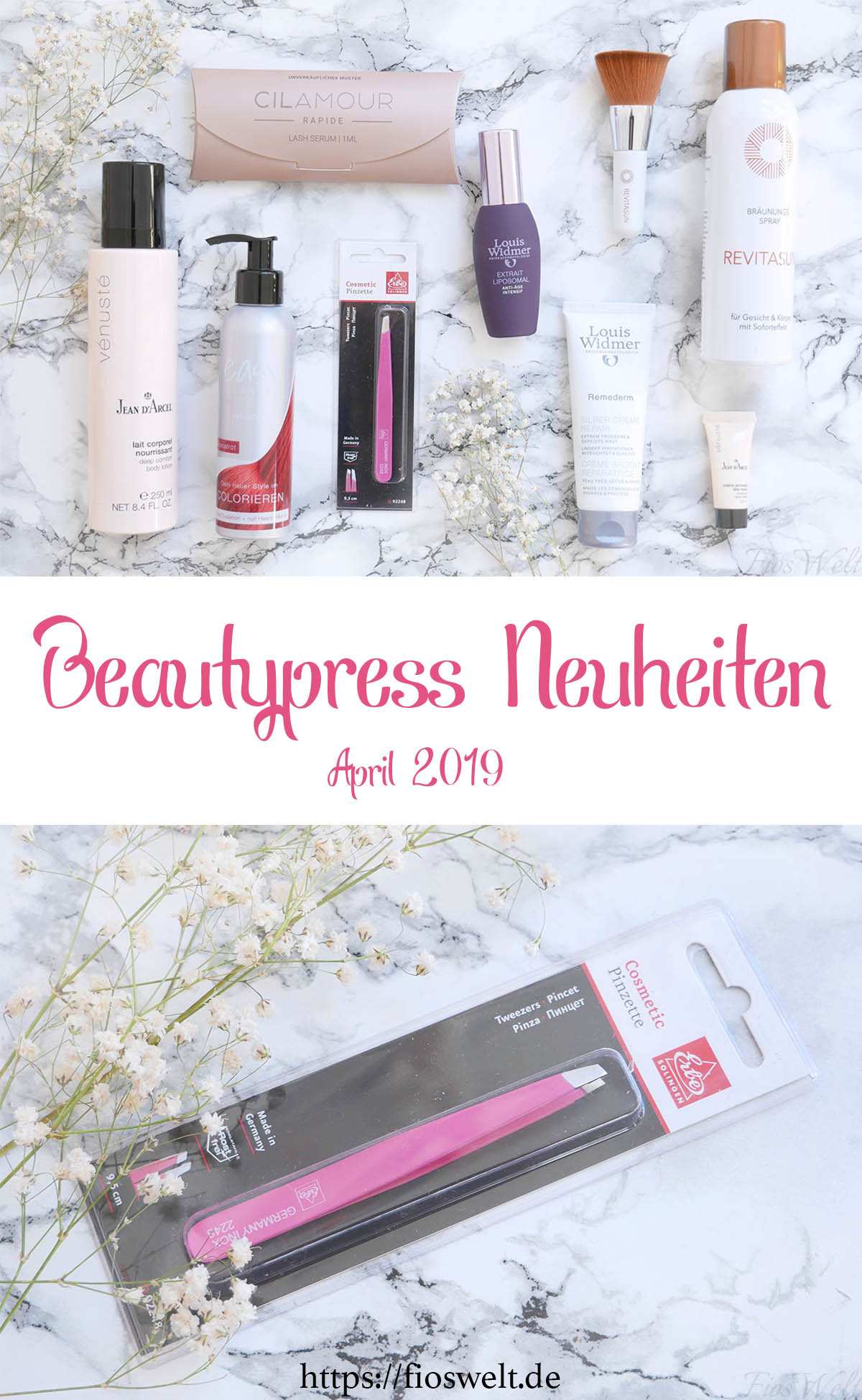 Beautypress Neuheiten April Pinterest