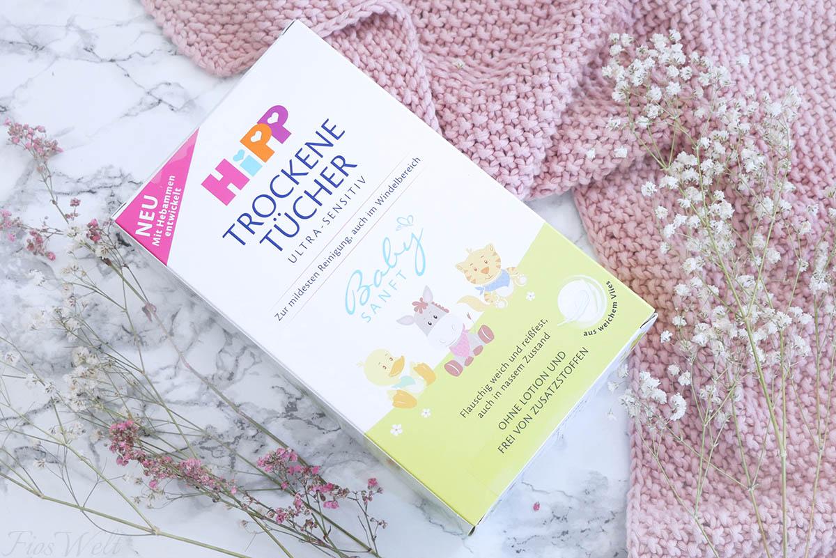 HiPP Babysanft Trockene Tücher