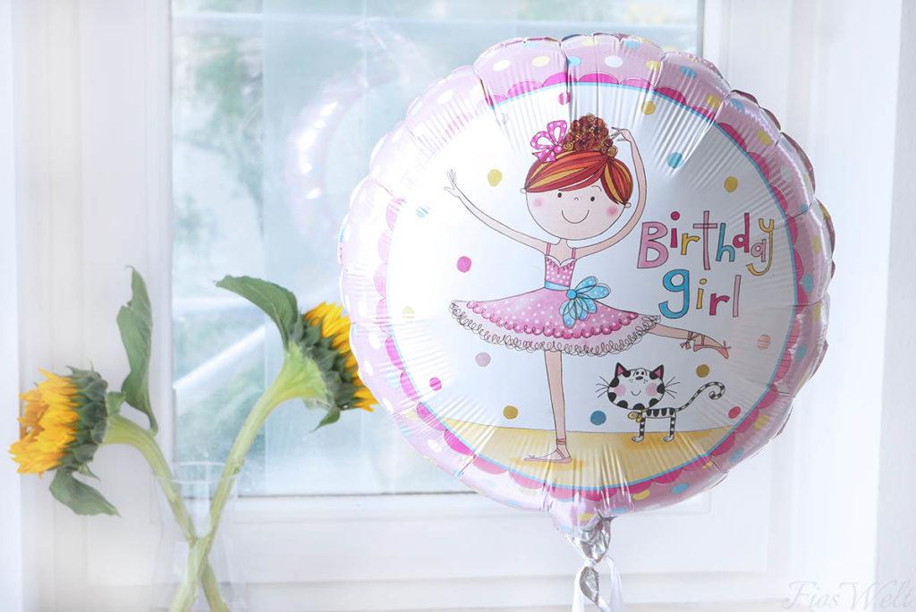 Folienluftballon Geburtstag