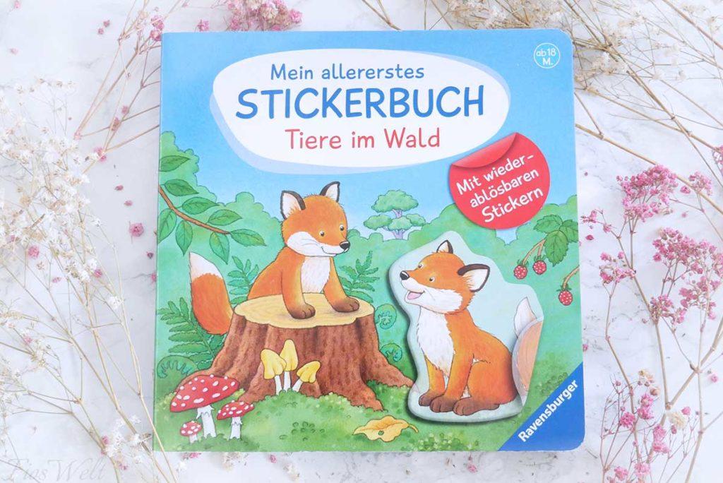 Stickerbuch für Kleinkinder